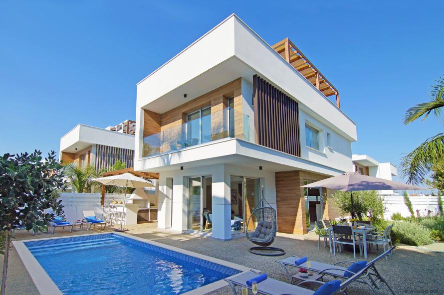 59 Xeropotamou, Vanilla Villa no.3, Paralimni,Ayia Triada Area,Protaras,5295 3 Bedrooms  With 3 Bathrooms 3 Villa 59 Xeropotamou, Vanilla Villa no.3, Paralimni