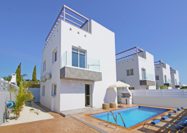 6 Isaak & Solomou, Nissini complex, House No. 6,Nissi Beach Area,Ayia Napa,5330 3 Bedrooms With 1 Bathrooms 1 Villa 6 Isaak & Solomou, Nissini complex, House No. 6