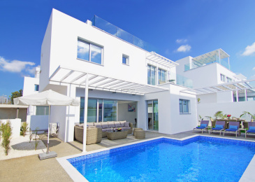 5 Mersinias, Elite Blue Complex, House No.5,Ayia Napa Resort Center,Ayia Napa,5330 3 Bedrooms  With 2 Bathrooms 2 Villa 5 Mersinias, Elite Blue Complex, House No.5