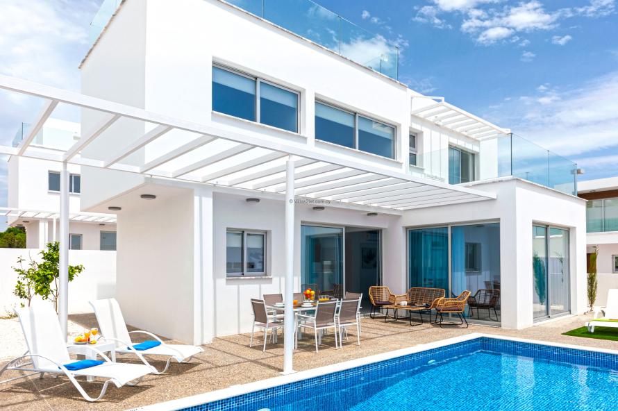 5 Mersinias, Elite Blue Complex, House No.31,Ayia Napa Resort Center,Ayia Napa,5330 3 Bedrooms  With 2 Bathrooms 2 Villa 5 Mersinias, Elite Blue Complex, House No.31