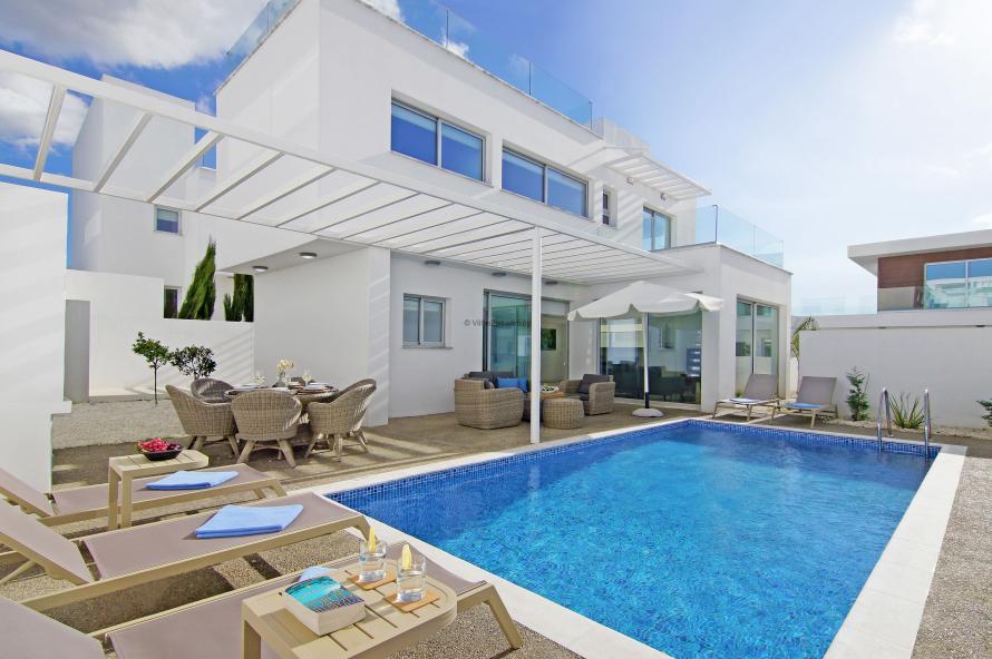 5 Mersinias, Elite Blue No.34,Ayia Napa Resort Center,Ayia Napa,5330 3 Bedrooms With 2 Bathrooms 2 Villa 5 Mersinias, Elite Blue No.34