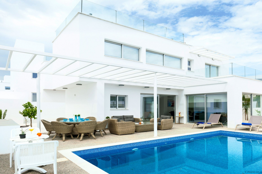 5 Mersinias, Elite Blue No.33,Ayia Napa Resort Center,Ayia Napa,5330 3 Bedrooms With 2 Bathrooms 2 Villa 5 Mersinias, Elite Blue No.33