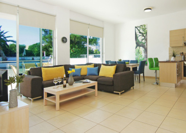 11-13 Daphnes Street, Flat A006, Paralimni,Protaras Resort Center,Protaras,5295 2 Bedrooms With 2 Bathrooms 2 Apartment 11-13 Daphnes Street, Flat A006, Paralimni